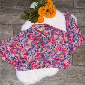 Vintage 80s/90s Floral Top